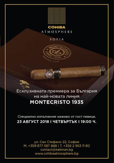 Official launch Montecristo 1935 line