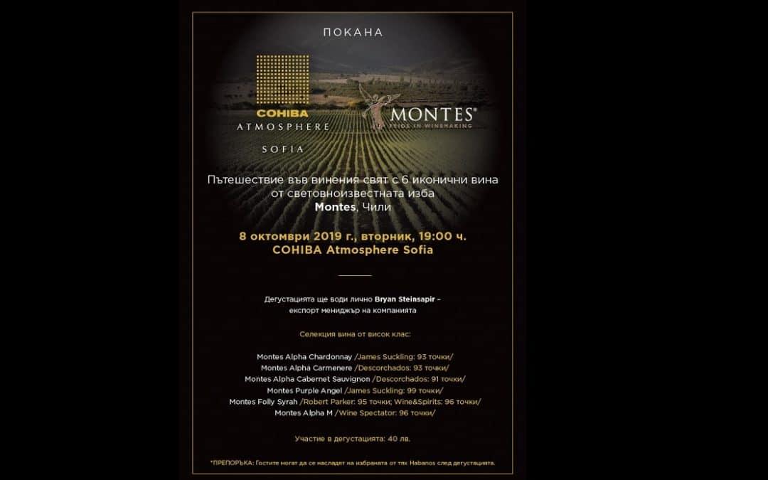 Six Montes wines tasting